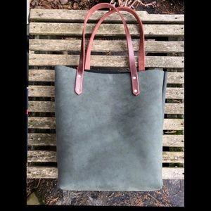 Leather tote purse 👜